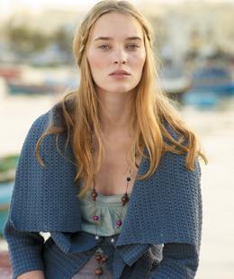 Rowan Summer Crochet - Blue Cardi
