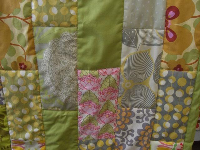 Amy Butler brick quilt